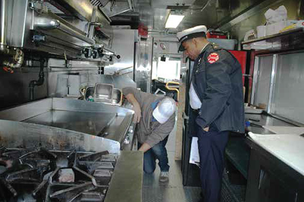 Food Truck Inspection